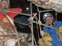 caving tours israel
