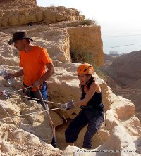 Canyoning (snapling) tours in Israel - Canyon Ein Bokek