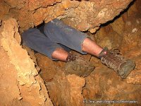 Caving (spelunking / snapling) in Israel - Huta 6 Cave
