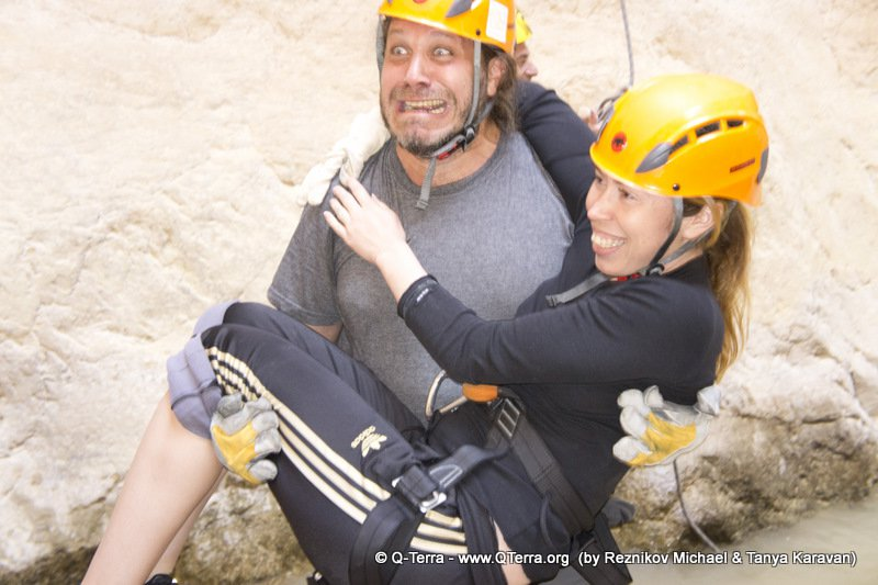 Canyoning (snapling) tours in Israel - Canyon Rahaf